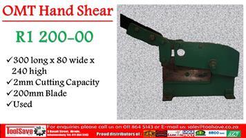 OMT Hand Shear
