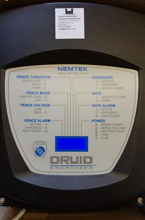 Nemtek Druid LCD 15 Electric Fence Energizer Bargain