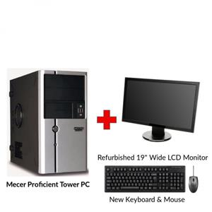 Refurbished Mecer Proficient Core i3 Gen2 Tower PC