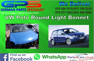 VW Polo Round Light 2004 Bonnet for Sale