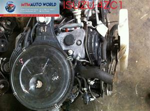 Imported used ISUZU ASKA/PIAZZAS 2.0L PETROL SOHC 8V 4ZC1 ENGINES. Complete second hand used engine