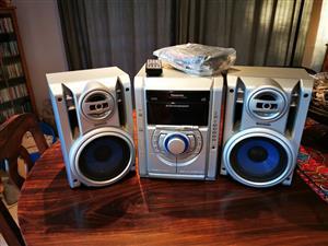 Panasonic CD & Casette Player