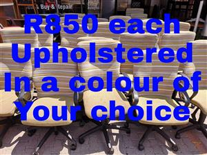Office chairs in a colour of your choice, match your logo!