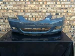 Mazda 3 Sedan Front Bumper Skin