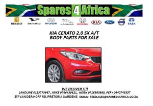 KIA CERATO 2.0 SX AT USED BODY PARTS
