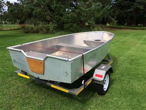 Aluminium (tinny) boat for sale