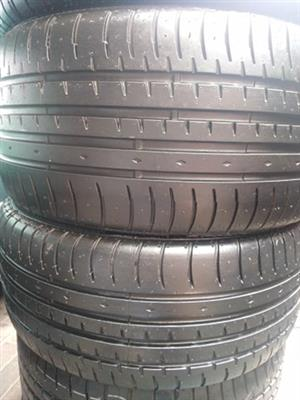 225/40R18 ACCELERA (RUNFLAT) TYRES FOR SALE
