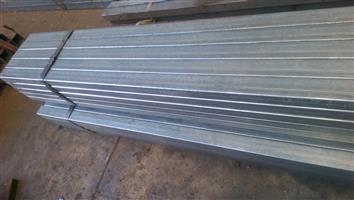 Steel tube, Galvanized and 3CR12