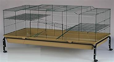CC004	Small Animal Cage with Stand 102x51x84cm