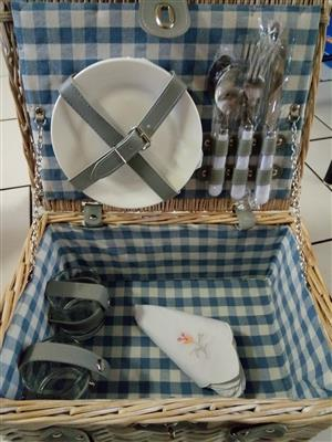 Picnic basket for lazy weekends