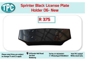 Mercedes Benz Sprinter License Plate Holder 06- for Sale at TPC