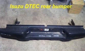 Isuzu DTEC front and rear bumpers for sale.