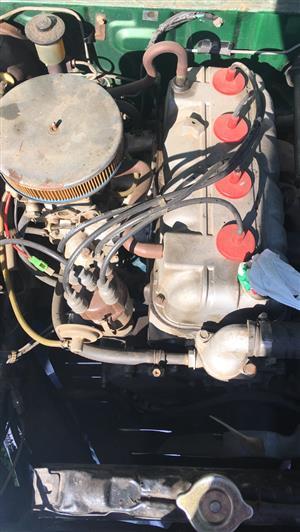 Toyota 2T engine