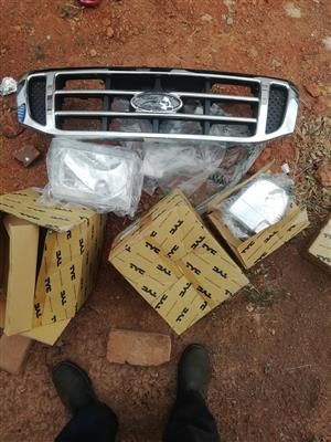 Ford ranger Wl front grill, head lights and indicators