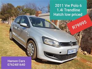2011 VW Polo 1.4 Trendline