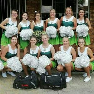 Pompoms for Cheerleaders in South Africa