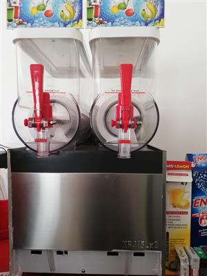 SLUSH MACHINE DOUBLE BARREL FOR SALE