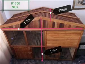Big wooden pet cage