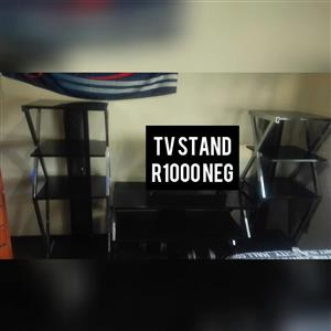 Black 3 piece tv stand for sale