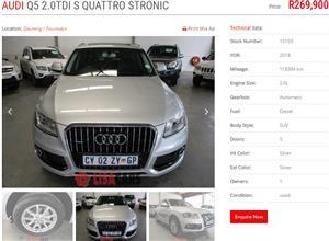 2012 Audi Q5 2.0TFSI quattro