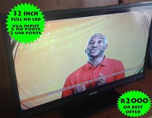32 Inch full hd LED tv