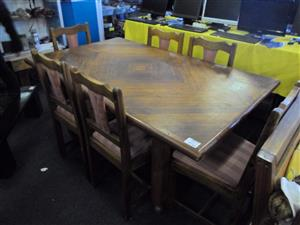 6 Seater Wooden Dining Room Suite