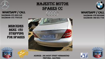 Mercedes c class stripping for spares