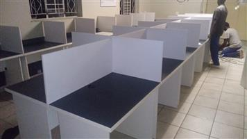 Call Centre desks and installation