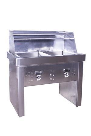 2x20Lt & 3x20Lt  PAN GAS FRYERS