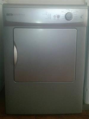 Defy tumble dryer silver