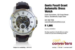 Gents Fossil Grant Automatic Dress Watch