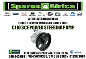 CLIO SCE POWER STEERING PUMP FOR SALE
