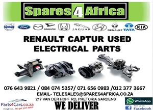 RENAULT CAPTUR USED ELECTRICAL PARTS FOR SALE