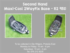 Second Hand Maxi-Cosi 2WayFix Base