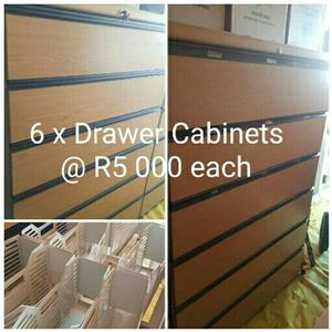 2 x Filling Cabinets for sale