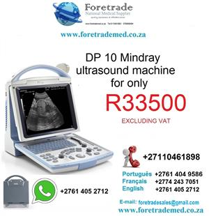 DP10 Mindray ultrasound Sonar Scanner for only R 33 500