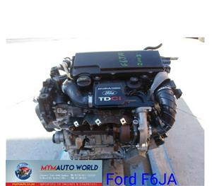 Imported used  FORD FIESTA/FUSION 1.4 TDCI, F6JA Complete second hand used engine