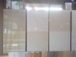 PORCELAIN WALL AND FLOOR TILES.