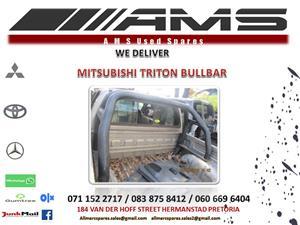 MITSUBISHI TRITON BULL BAR