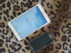 Samsung S3 Mini Phone and Samsung galaxy Tablet