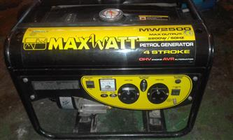 Maxwatt Generator for sale