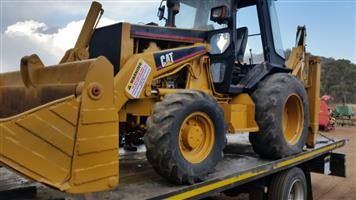 Yellow Catterpillar 428B 4x4 Pre-Owned TLB