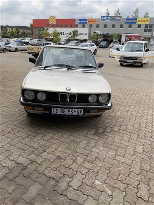 1985 BMW 5 Series 520i