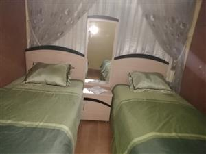 Beds and headpiece