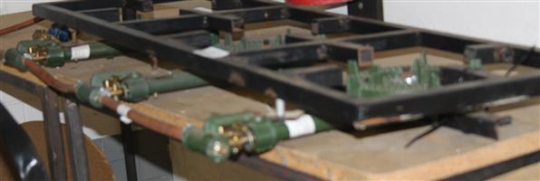 3 plate gas burner S030148A #Rosettenvillepawnshop
