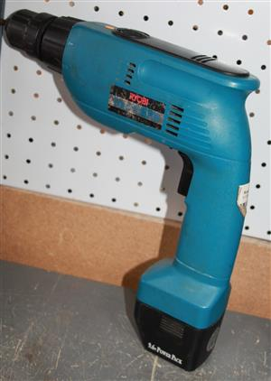 S034480C Ryobi cordless drill with charger #Rosettenvillepawnshop