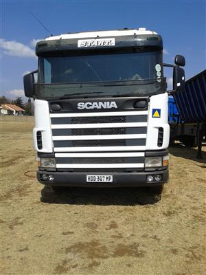 Ready to sell a strong Scania.