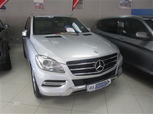 2012 Mercedes Benz ML 250 BlueTec