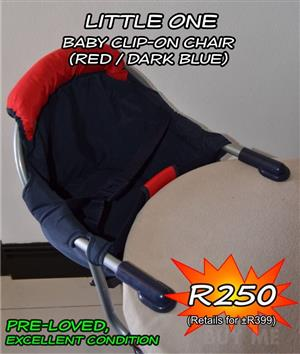 Little one baby clip on chair