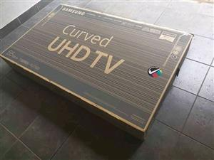 """Brand new Samsung  65"""" UHD  curved TV, used for sale  Vereeniging"""